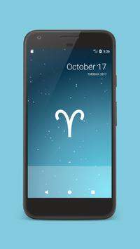 Zodiac sign live wallpaper screenshot 3