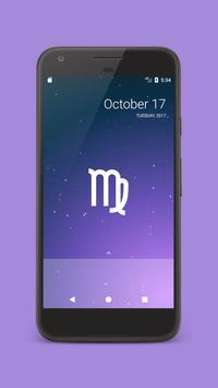 Zodiac sign live wallpaper screenshot 1