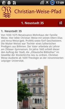Christian-Weise-Gedenkpfad Zit apk screenshot