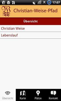 Christian-Weise-Gedenkpfad Zit screenshot 1