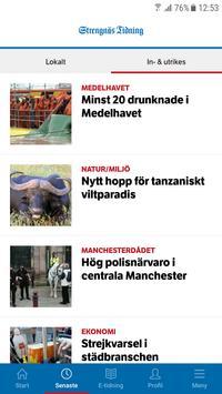 Strengnäs Tidning screenshot 1