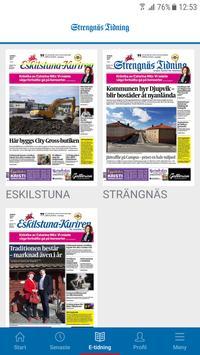 Strengnäs Tidning screenshot 2