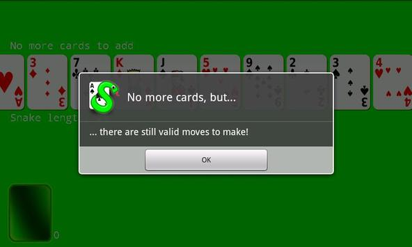 Snake Patience apk screenshot