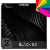 Black 6.0 ( Xperia Theme ) icon