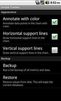 Simple Tracker (beta) apk screenshot