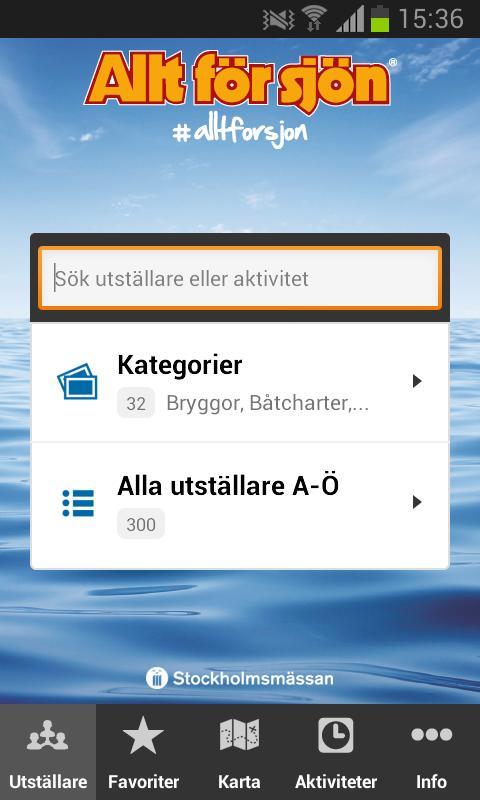 Karta Stockholmsmassan.Allt For Sjon For Android Apk Download