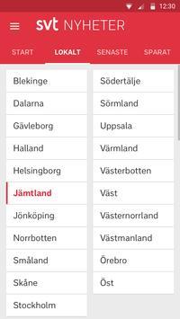 SVT Nyheter apk screenshot