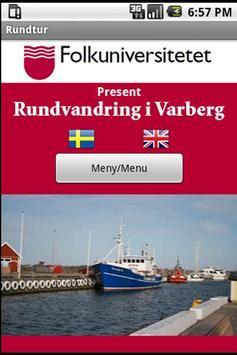 Roundtrip in Varberg poster