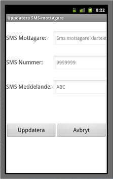 SMS-Biljett (SL + UL) screenshot 2