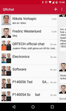 QRCHAT apk screenshot