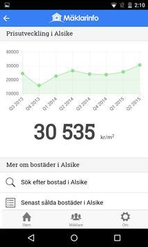 Mäklarinfo apk screenshot