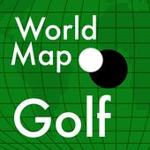 World Map Golf icon
