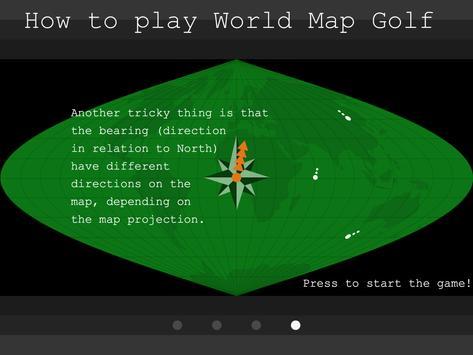 World Map Golf screenshot 5