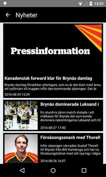 Brynäs IF screenshot 1