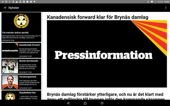 Brynäs IF screenshot 8