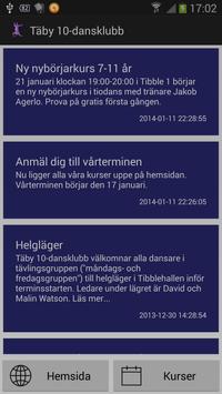 Täby 10-dansklubb poster