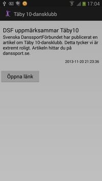 Täby 10-dansklubb apk screenshot