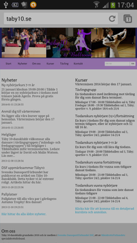 Täby 10-dansklubb screenshot 2