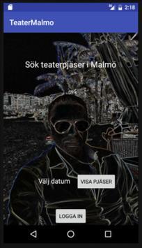 Teater Malmö poster