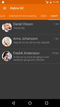 Hybra UC – Telekonsult Syd AB apk screenshot