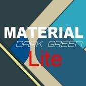 Theme Material Dark Green Lite icon