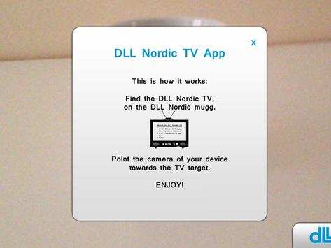 DLL Nordic TV apk screenshot