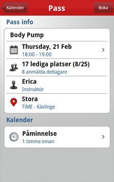 TiME Sport Club apk screenshot