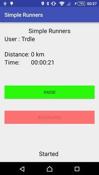 Simple Runners apk screenshot