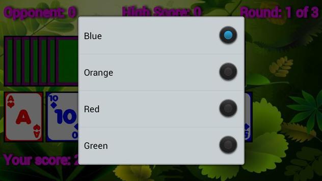 Crazy Colored Cards screenshot 1