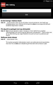 Folkbladet e-tidning apk screenshot
