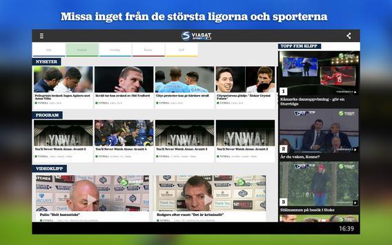 Viasatsport.se screenshot 3