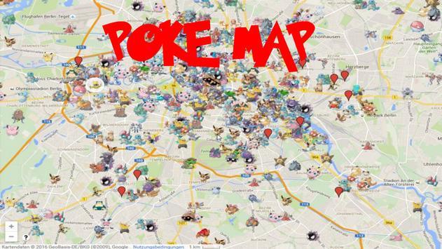 NEW GO map for Pokemon GO screenshot 1