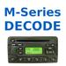 Radio Decode M-series