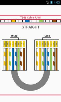 T568 Cable RJ45 poster
