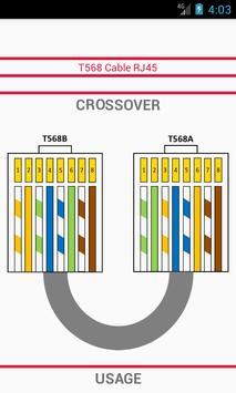 T568 Cable RJ45 screenshot 1