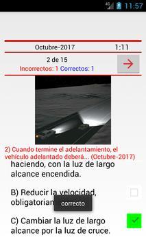 Test para DGT apk screenshot