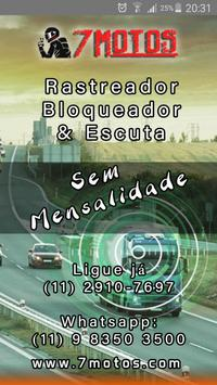 7 Motos GPS poster