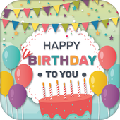 Birthday Party Invitation Card Maker icon