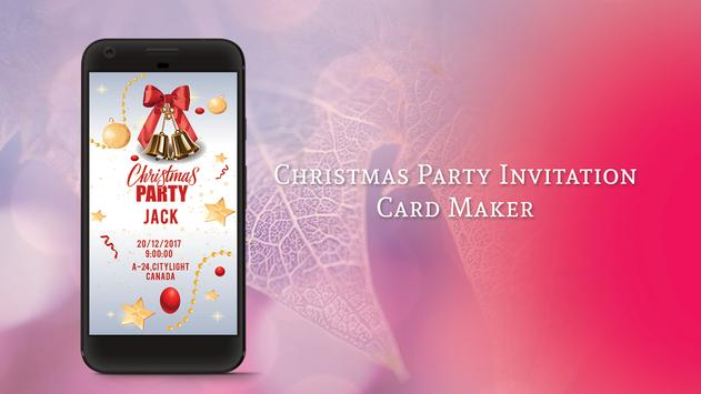 Christmas Party Invitation Card Maker For Android Apk