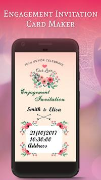 Engagement Invitation Card Maker screenshot 4