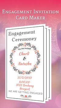 Engagement Invitation Card Maker screenshot 2