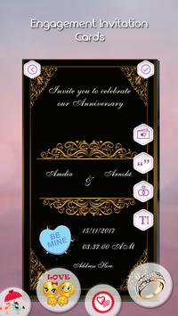 Engagement Invitation Card Maker screenshot 3