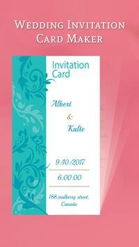 Wedding Invitation Card Maker apk screenshot