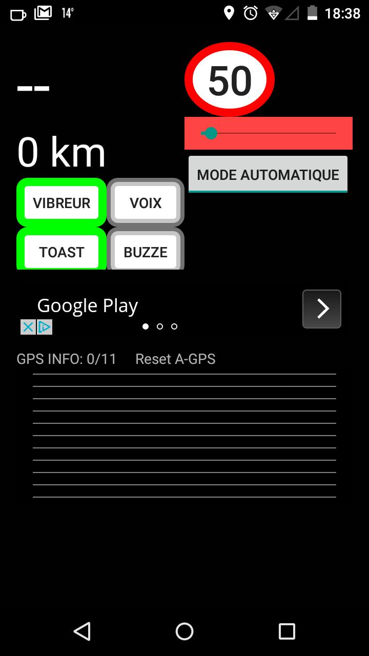 GPS FIX and SPEED ALERT for Android - APK Download