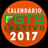 Calendário FGTS Inativo 2017 icon