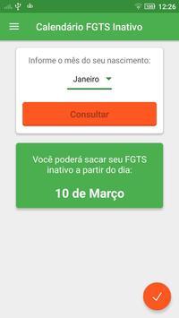 Calendário FGTS Inativo 2017 screenshot 3