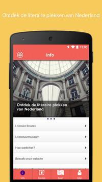 Literaire Routes apk screenshot