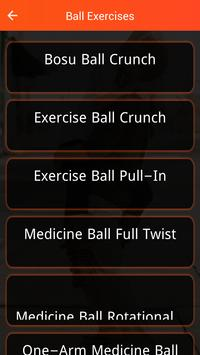 Ball Exercises poster