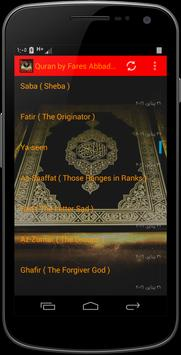Quran by Fares Abbad AUDIO poster
