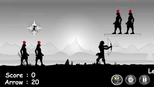 DarkMan 2 Apple Shooter apk screenshot